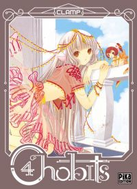 Chobits T4, manga chez Pika de Clamp