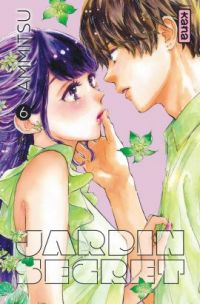 Jardin secret T6, manga chez Kana de Ammitsu