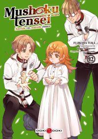Mushoku tensei T12, manga chez Bamboo de Rifujin na magonote, Fujikawa
