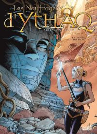 Les naufragés d'Ythaq T17 : La grotte des Faces (0), bd chez Soleil de Arleston, Floch, Guth