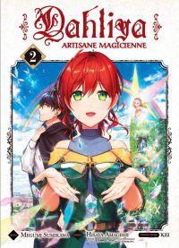 Dahliya - Artisane magicienne T2, manga chez Komikku éditions de Amagishi, Sumikawa