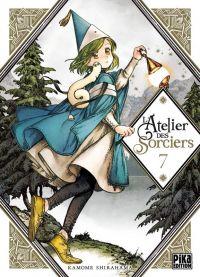 L'atelier des sorciers T7, manga chez Pika de Shirahama