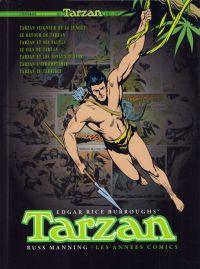 Tarzan - L'intégrale Russ Manning : Les années comics (0), comics chez Graph Zeppelin de Dubois, Manning, Hyam, Wood