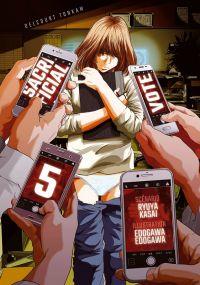 Sacrificial vote T5, manga chez Delcourt Tonkam de Kasai, Edogawa