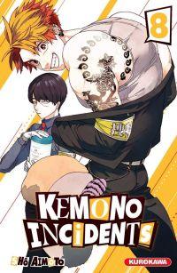 Kemono incidents T8, manga chez Kurokawa de Aimoto