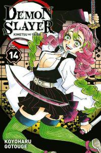 Demon slayer T14, manga chez Panini Comics de Gotouge