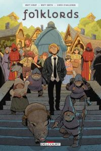 Folklords, comics chez Delcourt de Kindt, Smith, O'Halloran