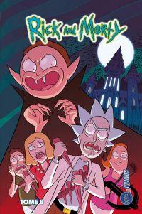 Rick and Morty T8, comics chez Hi Comics de Trujillo, Starks, Abrego, Farina, Ellerby