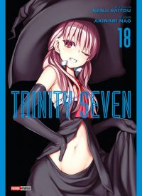 Trinity seven T18, manga chez Panini Comics de Nao, Saitô