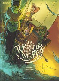 Les Terreurs des mers T1 : L'Hermione à la rescousse ! (0), bd chez Glénat de Brrémaud, Rigano, Dottori