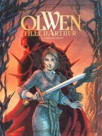 Olwen, fille d'Arthur T2 : La Corne de Vérité (0), bd chez Vents d'Ouest de Legrand, Annabel, Zeppegno