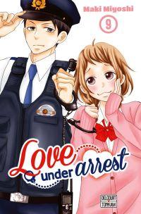 Love under arrest T9, manga chez Delcourt Tonkam de Miyoshi