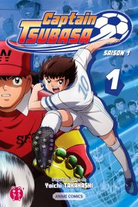 Captain Tsubasa Anime comics T1, manga chez Nobi Nobi! de Takahashi, DAVID Production
