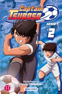 Captain Tsubasa Anime comics T2, manga chez Nobi Nobi! de Takahashi, DAVID Production