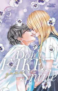 Don't fake your smile T5, manga chez Akata de Aoki