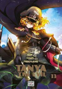 Tanya the evil T13, manga chez Delcourt Tonkam de Carlo, Tôjô