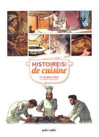 Histoire(s) de cuisine, bd chez Petit à petit de Cortez, Collectif