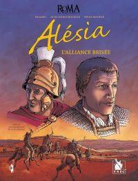 Roma (Eriamel) T4 : Alesia, l'alliance brisée (0), bd chez Ysec de Eriamel, Mogère, Michaud, Michaud
