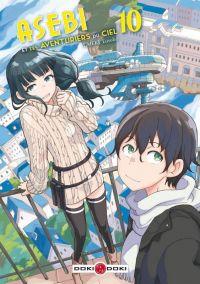 Asebi et les aventuriers du ciel  T10, manga chez Bamboo de Umeki