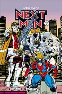 Next Men T2, comics chez Delirium de Byrne, Webb, Miller