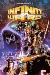 Infinity Wars , comics chez Panini Comics de Duggan, Deodato Jr, Martin