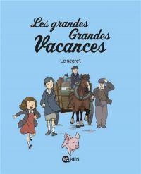 Les Grandes grandes vacances T2 : Le secret (0), bd chez BD Kids de Boulet