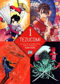 Tezucomi T1, manga chez Delcourt Tonkam de Kaneko, Cardona, Kirin, Brants, Gatignol, Lemaire, Tezuka, Scietronc, Morvan, Santos, Ishida, Souichiro, Torta, De Sousa