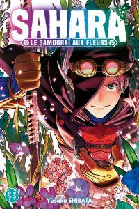 Sahara, le samouraï des fleurs, manga chez Nobi Nobi! de Shibata