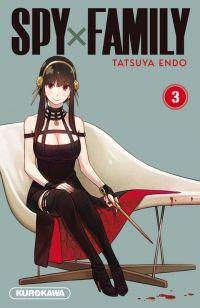 Spy X family T3, manga chez Kurokawa de Endo