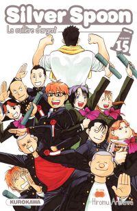 Silver spoon T15, manga chez Kurokawa de Arakawa
