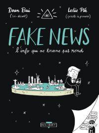 Fake news, l'info qui ne tourne pas rond, bd chez Delcourt de Bui, Plée