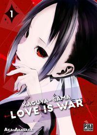 Kaguya-sama love is war T1, manga chez Pika de Akasaka