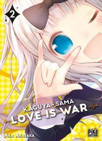 Kaguya-sama love is war T2, manga chez Pika de Akasaka
