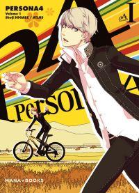 Persona 4 T1, manga chez Mana Books de Sogabe, Atlus