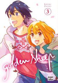 Golden sheep T3, manga chez Delcourt Tonkam de Ozaki