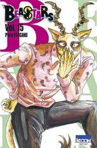 Beastars T15, manga chez Ki-oon de Itagaki