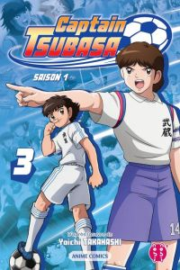 Captain Tsubasa Anime comics T3, manga chez Nobi Nobi! de Takahashi, DAVID Production
