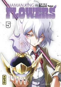 Shaman king flowers T5, manga chez Kana de Takei
