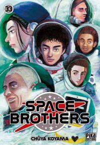 Space brothers T33, manga chez Pika de Koyama