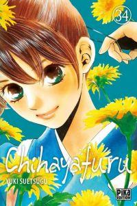 Chihayafuru T34, manga chez Pika de Suetsugu