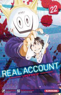 Real account T22, manga chez Kurokawa de Okushou, Shizumukun