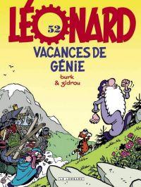 Léonard T52 : Vacances de génie (0), bd chez Le Lombard de Zidrou, Turk