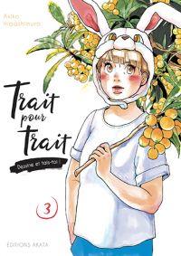 Trait pour trait T3, manga chez Akata de Higashimura