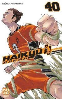 Haikyû, les as du volley T40, manga chez Kazé manga de Furudate