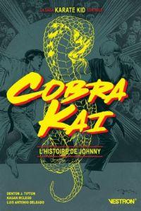 Cobra Kai : L'histoire de Johnny (0), comics chez Vestron de Tipton, McLeod, Delgado, Diaz