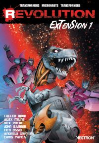 Revolution: Extension T1, comics chez Vestron de Barber, Roberts, Roche, Bunn, Griffith, Milne , Panda, Lafuente, Deer, Cruz, Christiansen