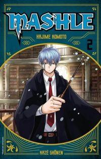 Mashle T2, manga chez Kazé manga de Kômoto