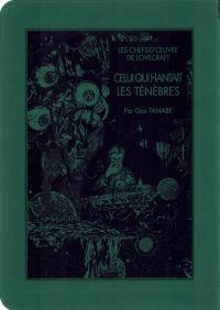 Celui qui hantait les ténèbres, manga chez Ki-oon de Lovecraft, Tanabe