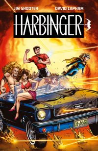 Harbinger, comics chez Bliss Comics de Shooter, Lapham
