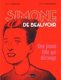 Simone de Beauvoir, bd chez Marabout de Carquain, Grojnowski